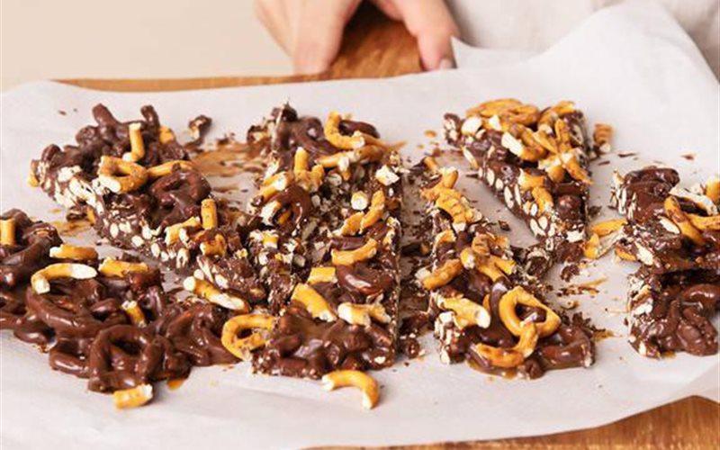 Cách làm Bánh quy chocolate caramel