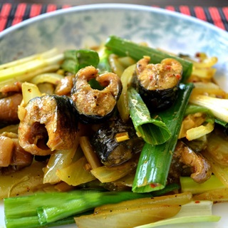 Cách làm Lươn Xào Sả Ớt kèm rau răm đơn giản cực ngon cơm