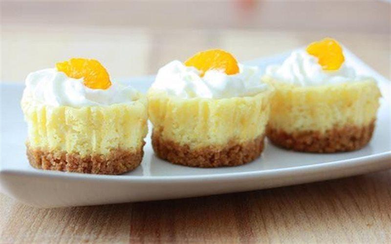 Cách Làm Bánh Cheesecake Cam Đơn Giản, Thơm Ngon