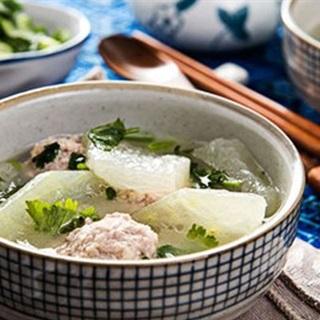 Cách làm Canh Bí Đao Thịt Viên thanh mát, cho bữa cơm