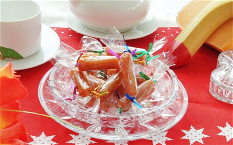 Cách làm Mứt Bí Đỏ dẻo thơm, ngọt lịm đơn giản tại nhà