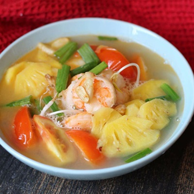 Cách Nấu Canh Chua Tôm Nấu Thơm | Ngon Hấp Dẫn | Cooky.vn