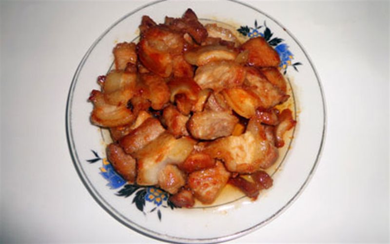 Cách làm Thịt Ba Chỉ Rang Cháy Cạnh cho bữa ăn gia đình