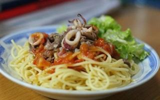 Spaghetti thập cẩm