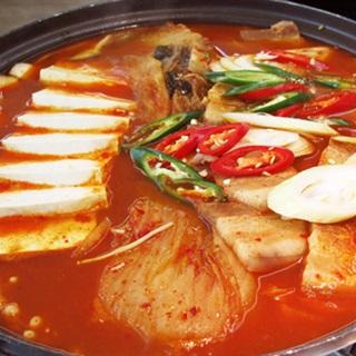 Cách làm Lẩu Kim Chi Hàn Quốc thịt heo, cho tiệc sum họp