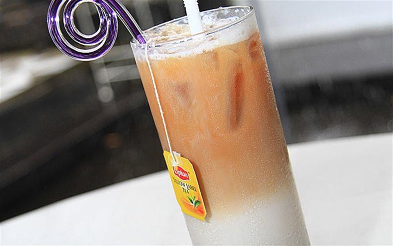 Cách Pha Trà Lipton Cam Sữa Ngon Hơn Cả Ngoài Hàng