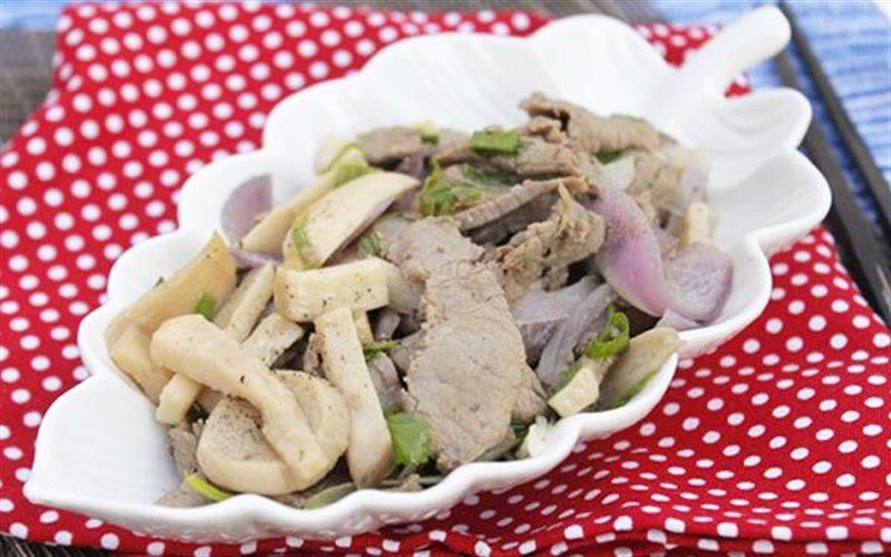 Cách Làm Nấm Đùi Gà Xào Thịt Bò Đổi Món Bữa Ăn Nhà