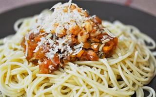 Spaghetti sốt tôm