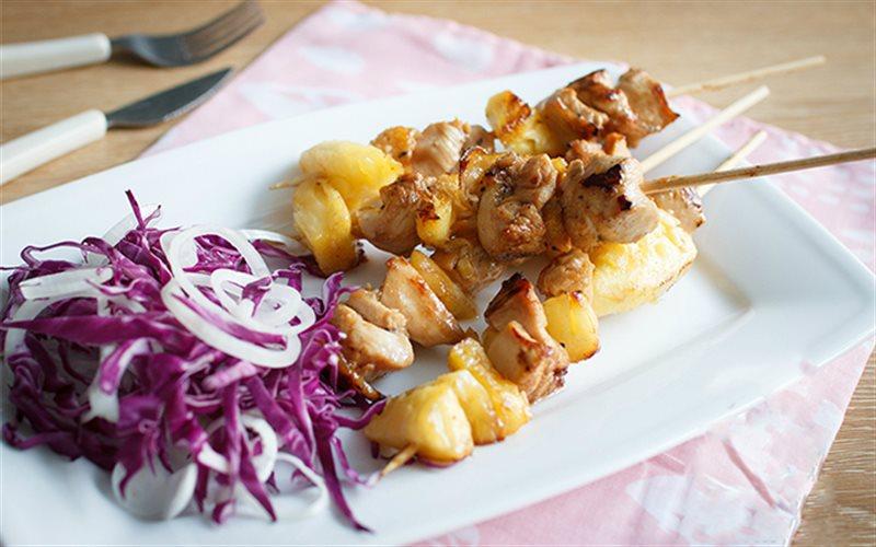 Cách Làm Thịt Gà Xiên Nướng Teriyaki Cực Ngon