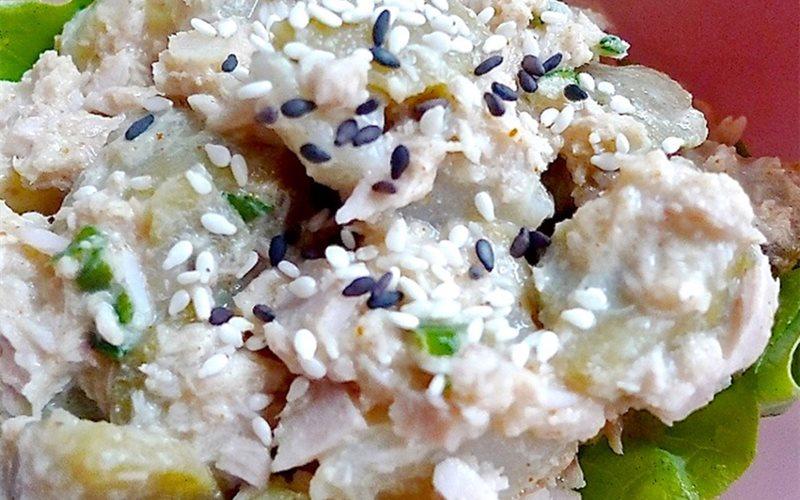 Cách làm Salad cá ngừ trộn khoai