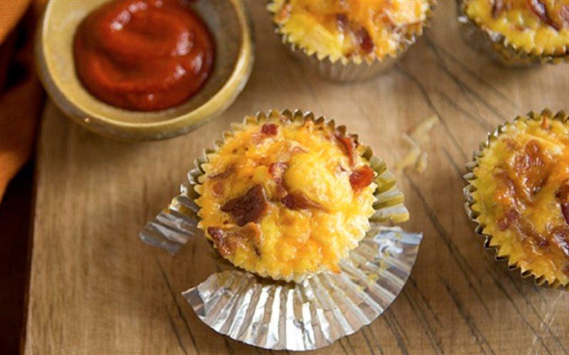 Cách làm Cupcake Khoai Tây Phô Mai nướng thơm ngon