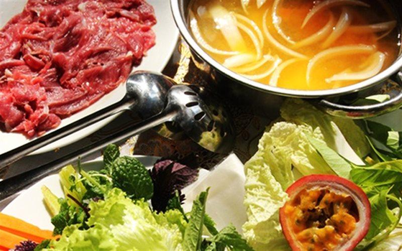 Cách Nấu Lẩu Bắp Bò Chanh Leo Ngon Như Ngoài Tiệm