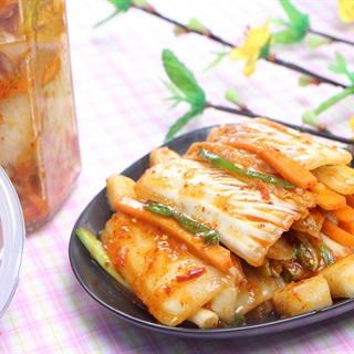 Cách muối Kim Chi Hàn Quốc cay ngon, ăn là mê liền