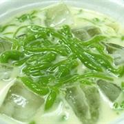 Bánh lọt lá dứa nước dừa