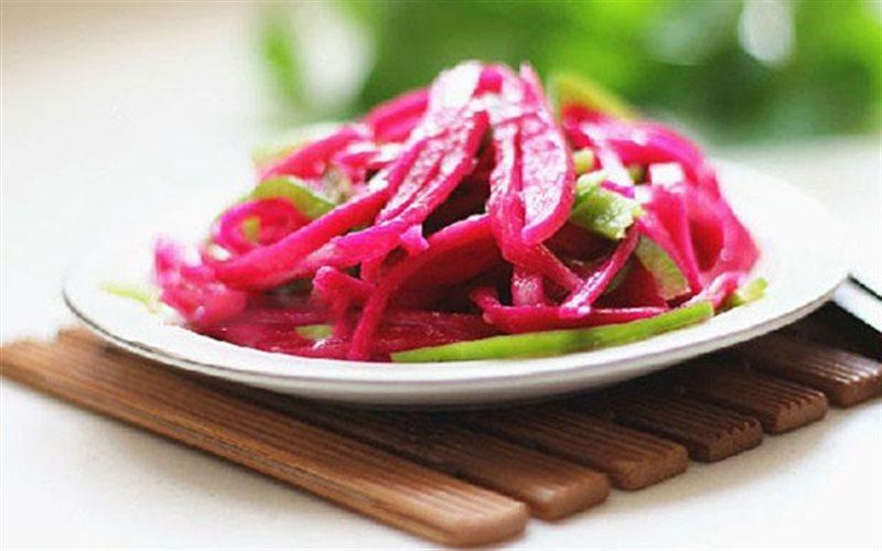 Cách Làm Salad Vỏ Thanh Long Đơn Giản Lạ Miệng