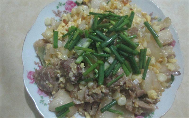 Cách Làm Bắp Xào Thịt Heo Đơn Giản, Đổi Vị Bữa Cơm