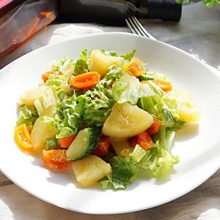 Cách Làm Salad Khoai Tây Dưa Leo Thanh Đạm Hấp Dẫn