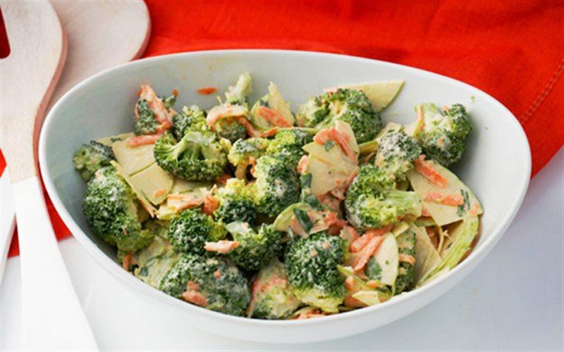 Cách Làm Salad Táo Thập Cẩm Thanh Mát, Giải Ngấy