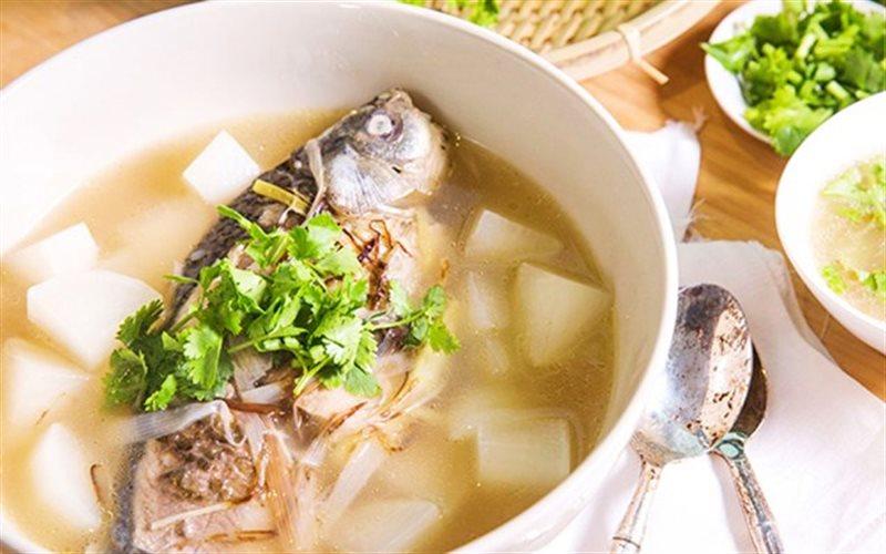Cách nấu Canh Cá Củ Cải đơn giản, cho bữa cơm ngày mưa