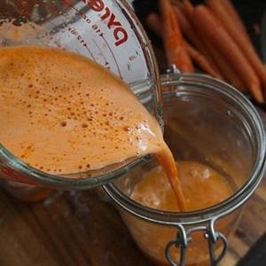 Nước cam cà rốt vị gừng