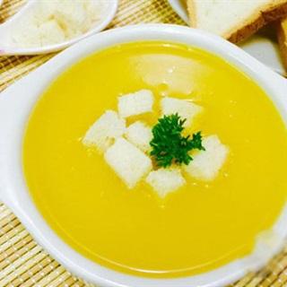 Cách làm soup kem bí đỏ