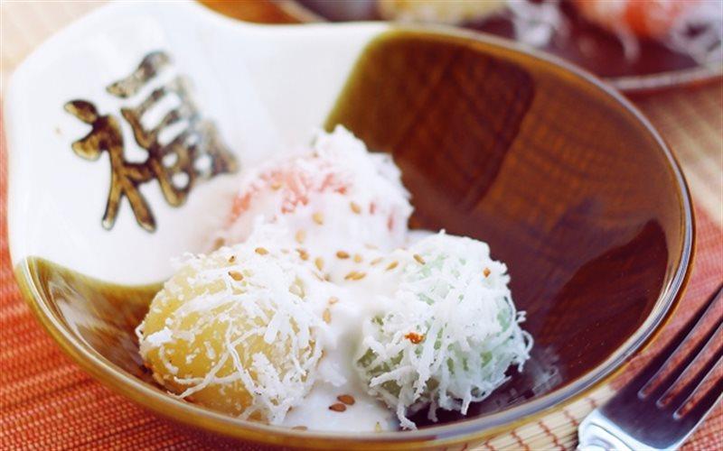 Cách làm Bánh Tằm Khoai Mì với nước cốt dừa béo ngậy