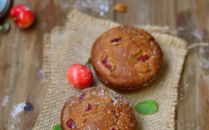 Cách Làm Bánh Muffin Cherry Siêu Ngon Dễ Làm Ở Nhà