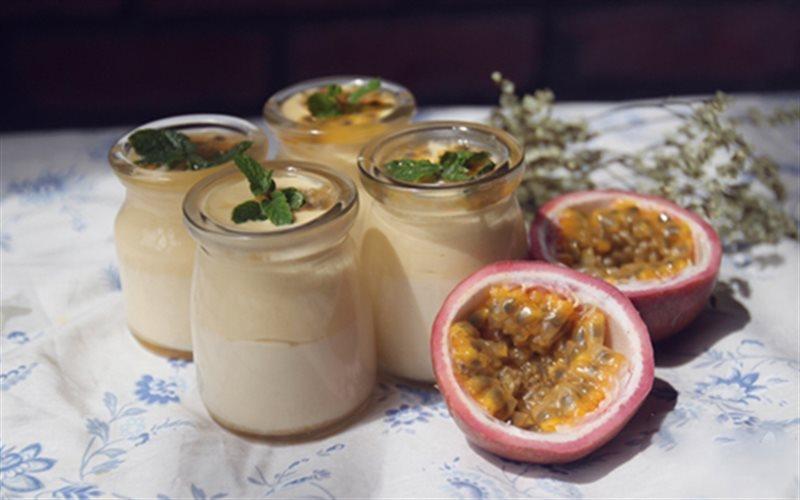Cách làm Mousse Chanh Dây làm món tráng miệng đãi cả nhà