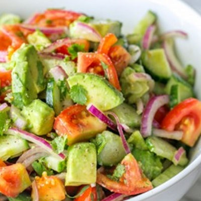 Eo thon, da đẹp với các loại salad ăn kiêng