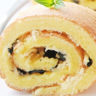 Cách Làm Bánh Cuộn Chà Bông Rong Biển | Thơm Ngon
