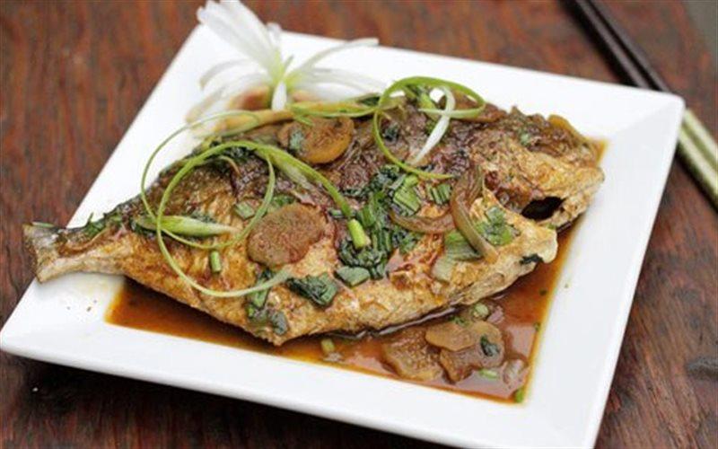 Cách làm Cá Chim Rim Gừng Tỏi đậm đà, cực ngon cơm