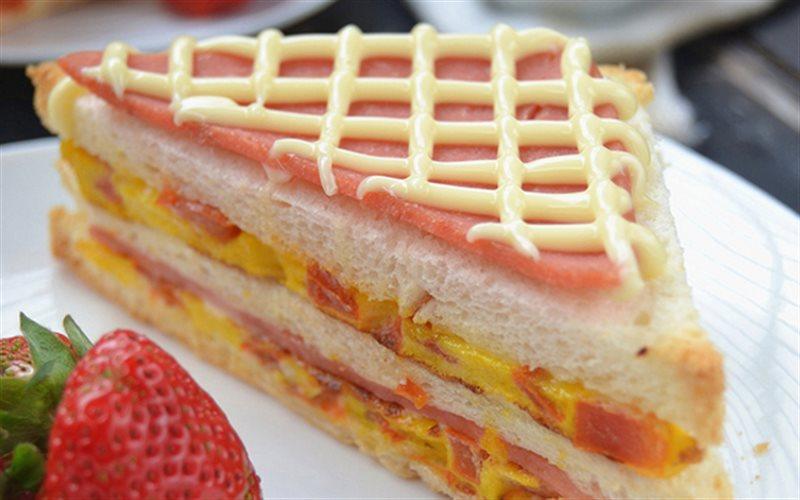 Cách Làm Bánh Mì Sandwich Kẹp Trứng, Cực Đơn Giản