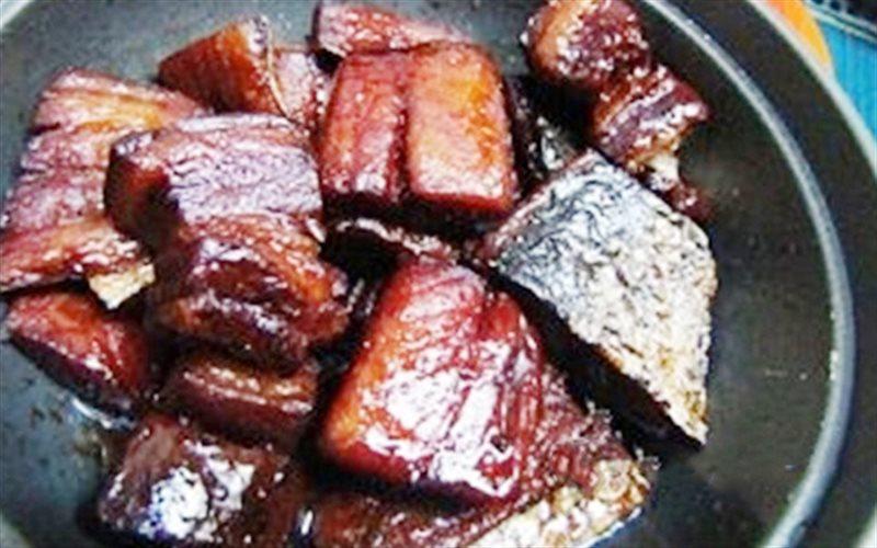 Cách Làm Cá Thu Một Nắng Kho Cùng Thịt Ba Chỉ