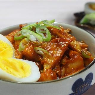 Cách làm bánh gạo cay Hàn Quốc tteokbokki