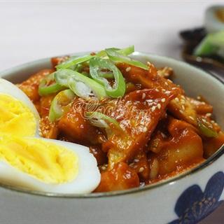 Bánh gạo cay Hàn Quốc tteokbokki