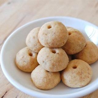 Bánh quy đậu phộng giòn rụm