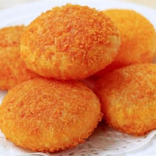Cách Làm Bánh Cà Rốt Chiên Phồng | Ngon Khó Cưỡng