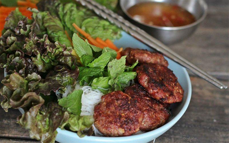 Cách Làm Bún Chả Thịt Bò Nướng Sả Chuẩn Vị Ngon