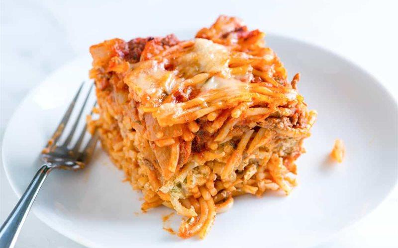 Cách làm Baked Pasta bò bằm sốt cà chua phô mai đút lò