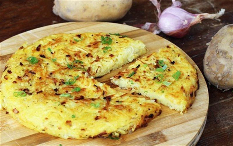 Cách Làm Bánh Khoai Tây Chiên Mặn Cho Bữa Sáng