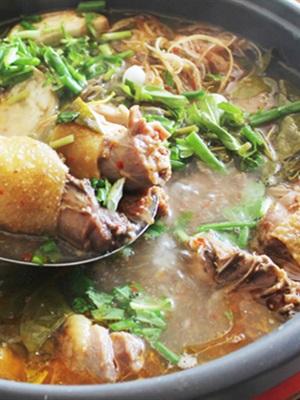 Cách nấu canh chua lá giang