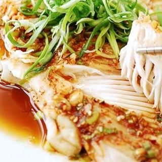 Cá đuối hấp kiểu Hàn
