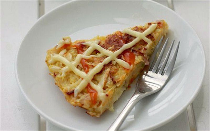 Cách Làm Bánh Xèo Nhật - Okonomiyaki Ngon Chuẩn Vị