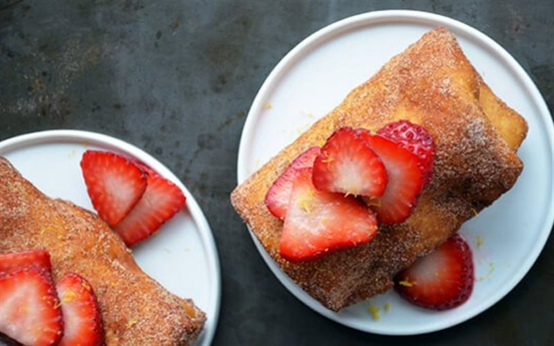 Cách Làm Bánh Phô Mai Cuộn Kem Đơn Giản Tại Nhà