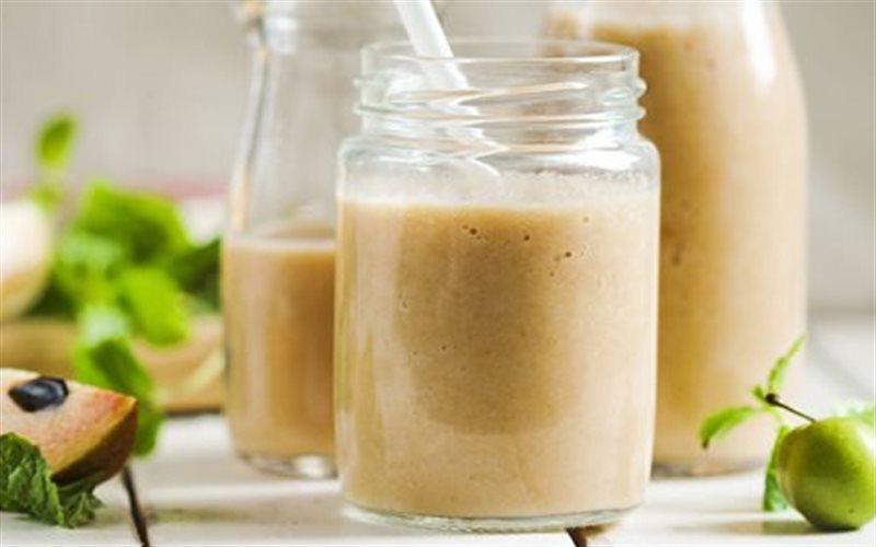 Cách làm Sinh Tố Sa Pô Chê với sữa tươi không đường