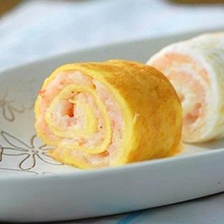 Cách làm Tôm Cuộn Trứng giòn thơm mà dễ làm tại nhà