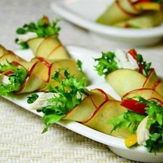 Cách Làm Salad Táo Cuộn Thơm Ngon Đơn Giản Ở Nhà