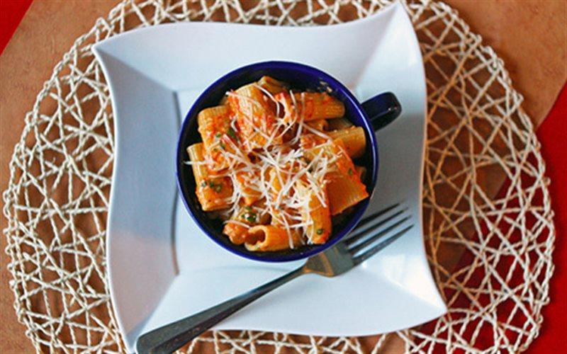 Cách Làm Pasta Ớt Chuông Thơm Ngon Mới Lạ Tại Nhà