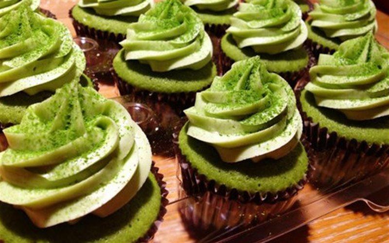 Cách Làm Cupcake Trà Xanh Cho Đêm Noel An Lành