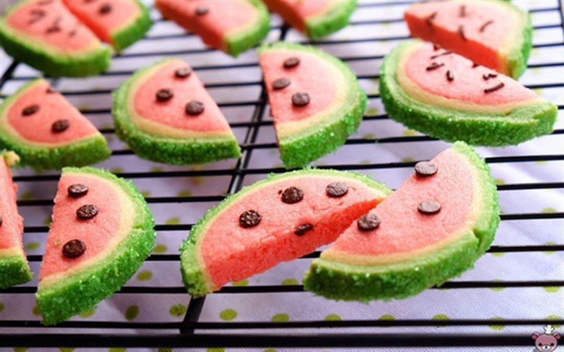 Cách Làm Bánh Quy Dưa Hấu Ngon Mời Cả Nhà Ăn Vặt
